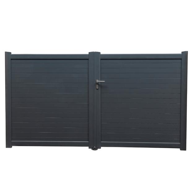 tous savoir sur le portail aluminium devis de sp cialistes gratuits portail electrique. Black Bedroom Furniture Sets. Home Design Ideas