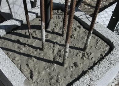 Réaliser les travaux de fondations associés au portail